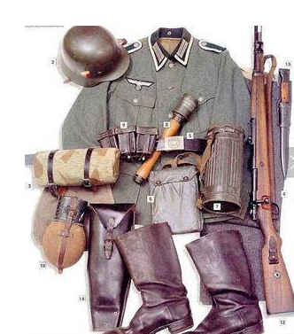 二战德军国防军军服