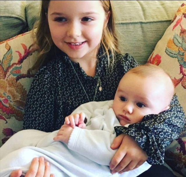 貝克漢姆家的小七長大了!這個超會投胎的小女孩讓全世界都艷羨圖片
