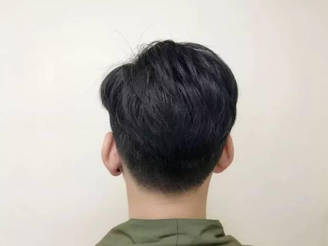 发型三七分无刘海男生(显脸瘦)海沃德猕猴桃照片图片