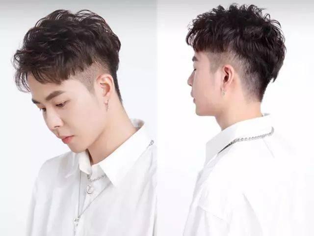 2019年男青年流行发型图片