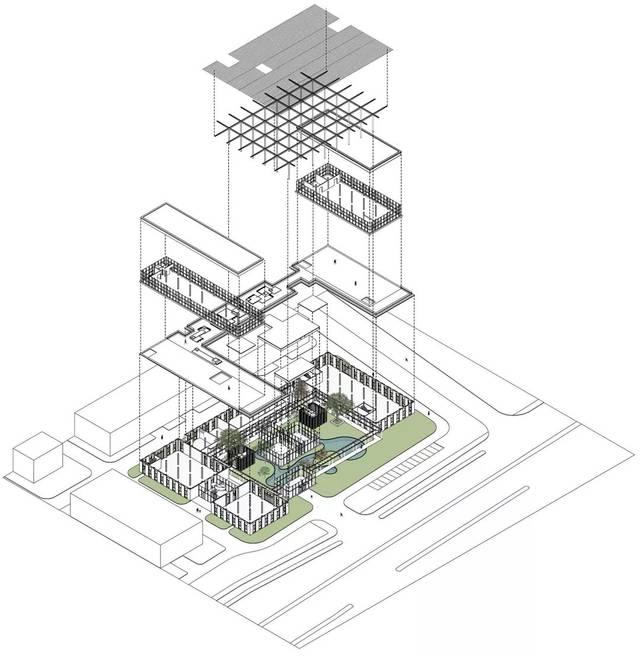 -新苏小学研发中心,无锡/上海米丈建筑集团宣传页设计素材图片