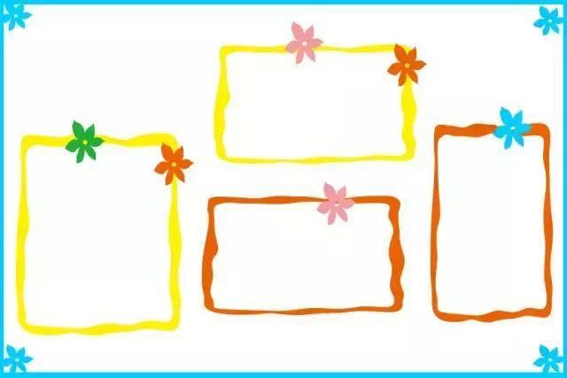 小小传承人:幼儿园环创主题墙和家园共育栏的边框设计