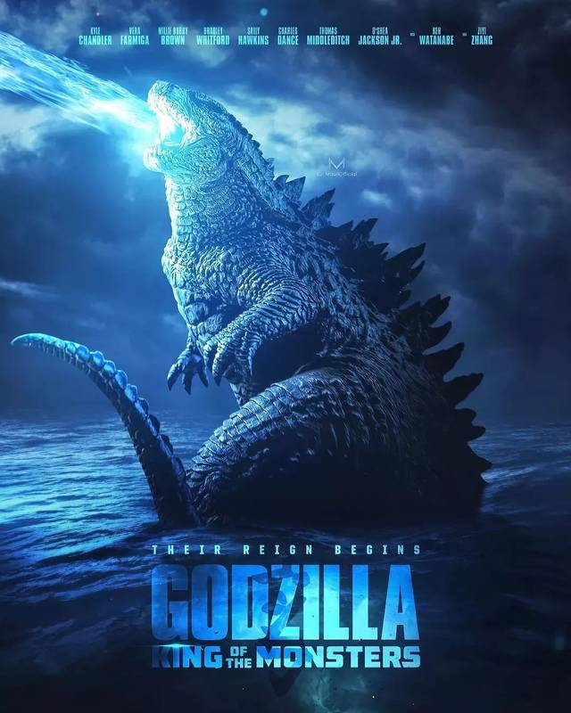 《哥斯拉2:怪兽之王》史诗级四大怪兽全部现身