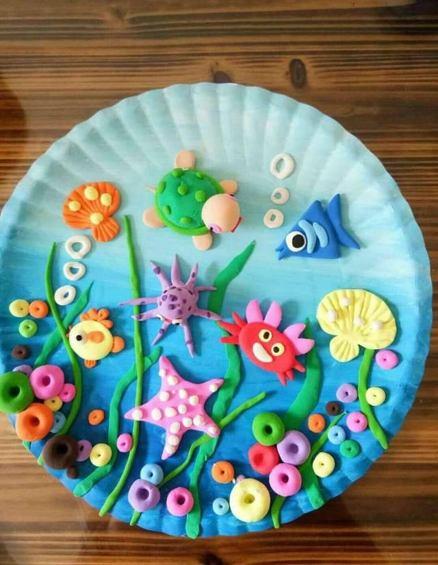 泡泡泥手工制作素材资料,收藏起来陪孩子一起做手工!