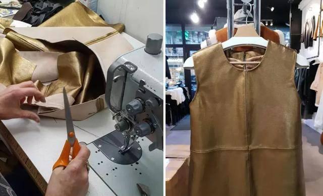 还喜欢当裁缝自己动手做衣服给自己穿,心灵手巧▼