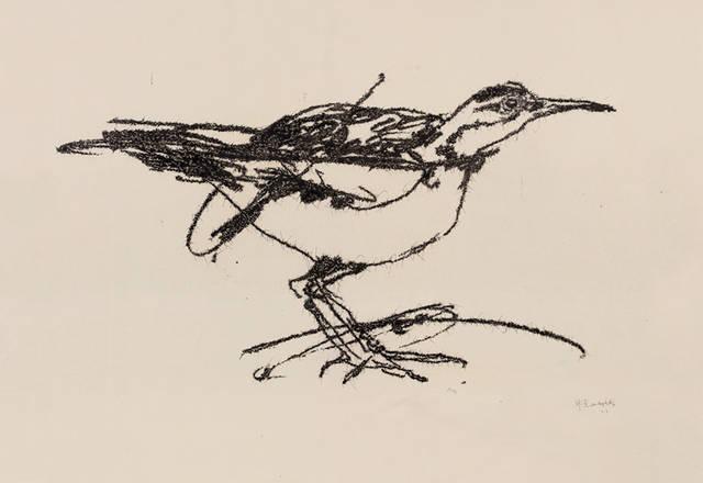 柯利思缇恩-喜万列举了多幅自己与叶永青作品的对比,比如上图四为柯利图片