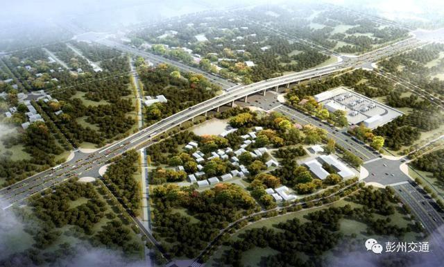 啟動彭青淮快速路,成阿高速(成都平原經濟區環線彭州連接線)前期工作圖片