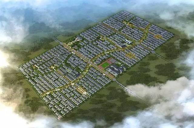 单县南城新区规划图