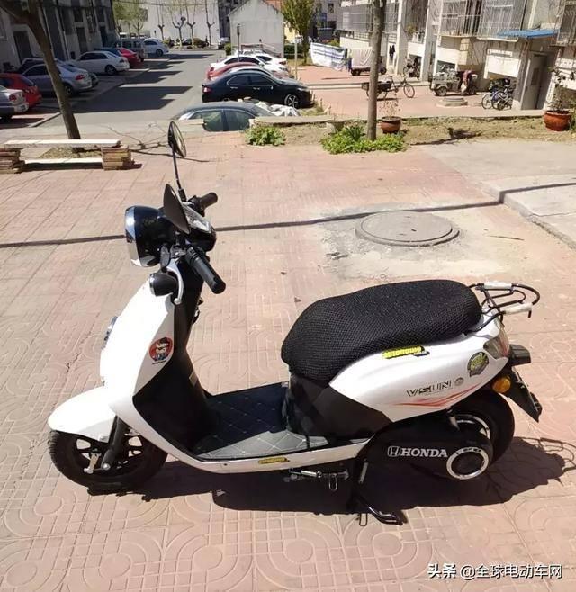 网友想买台好点的电动车,为什么买成了五羊-本田电动摩托车?图片