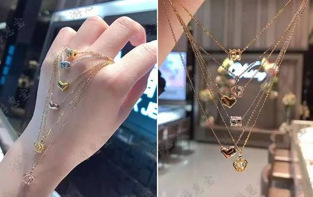香港六福珠宝超火爆的小蛮腰!