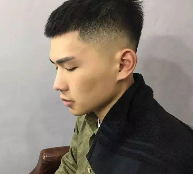 男士锡纸烫发型图片