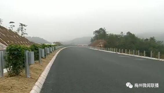 梅州新规划四条高速公路,这条离洲瑞最近……