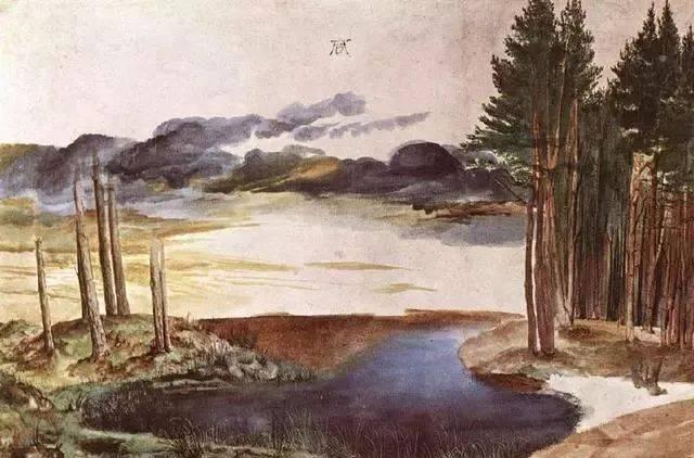 水彩風景 丟勒(公元1471-1528)