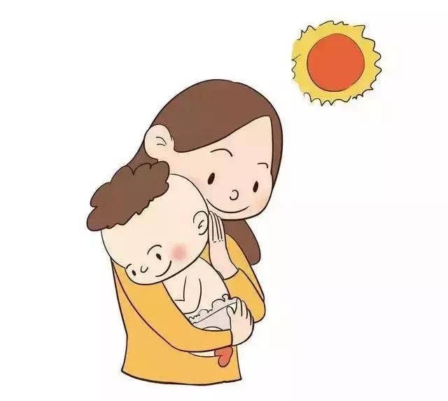 新生儿可在室内阳台上晒太阳,注意不要隔着玻璃晒太阳.图片