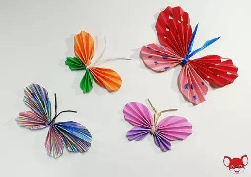 8款幼儿园蝴蝶手工制作教程