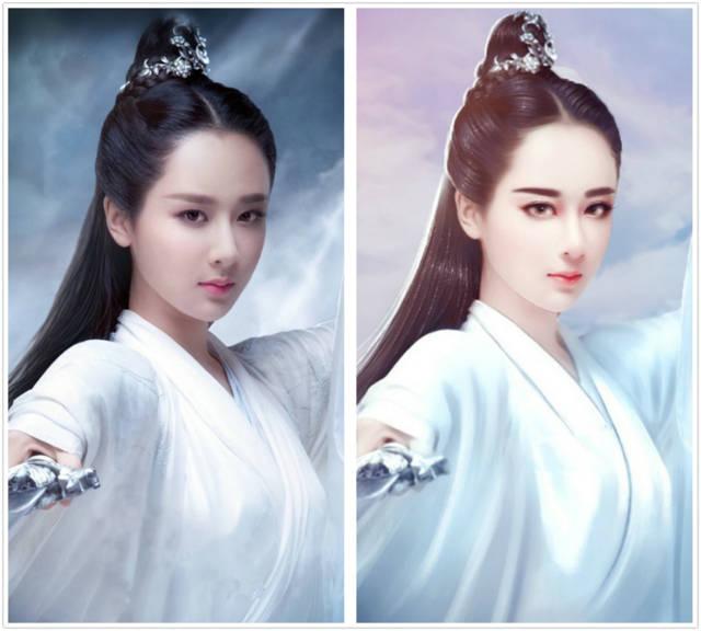 女星古装手绘图:刘亦菲,热巴,唐嫣,杨紫真是太美太美太美了!