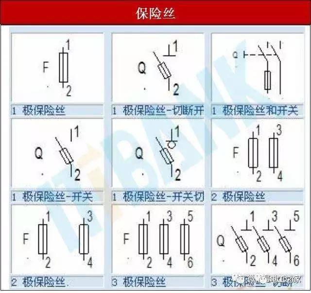 电子元器件电路符号 实物图 命名规则