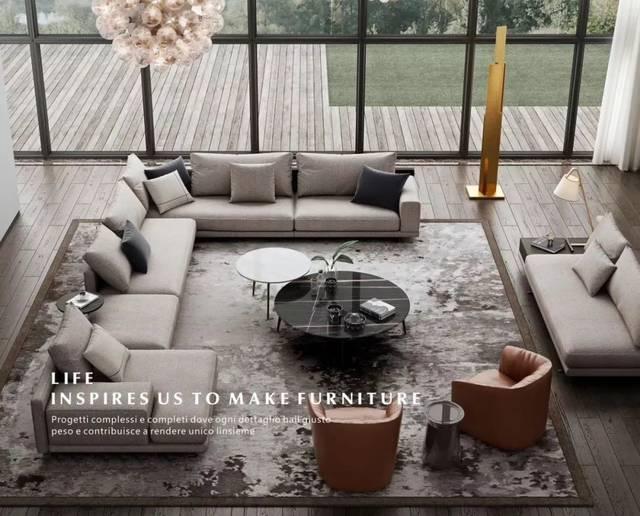 让关注点聚焦于作品本身 △ moda loft 9-1a01-02 意式极简的家居风格