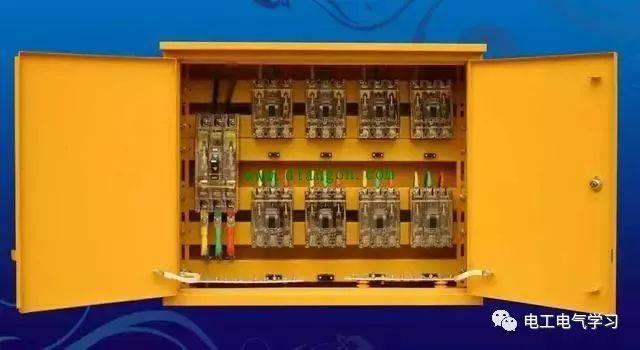 6回路含塔吊回路分配电箱系统图 4开关箱(按一机一闸一漏一箱设置)