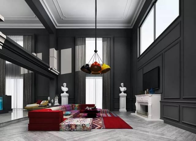 25款别墅挑高客厅设计,借鉴一下!