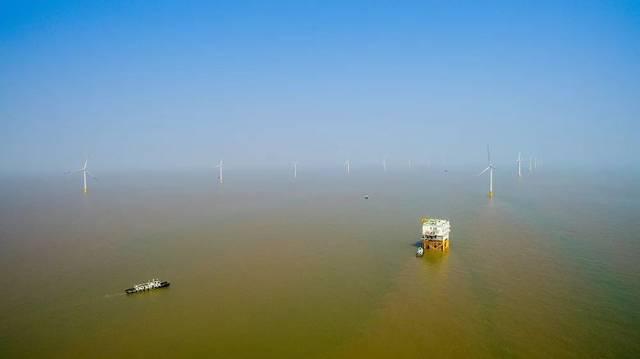 顶级纪录片《鸟瞰中国》介绍华能如东海上风电,镜头美