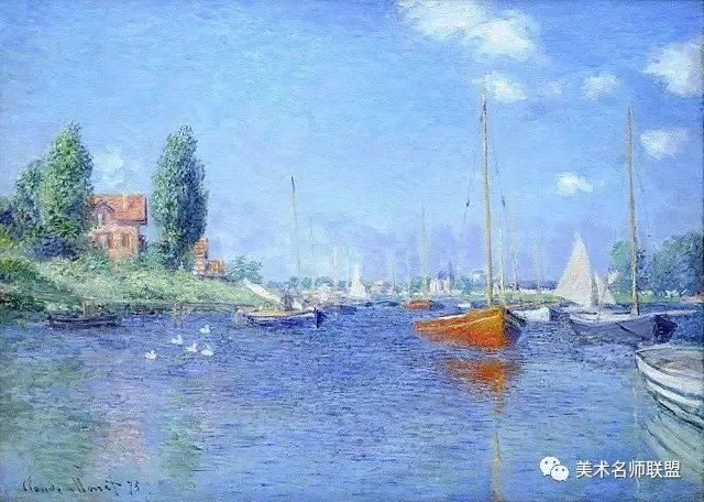 大师莫奈作品欣赏,100多张色彩风景让您大饱眼福!