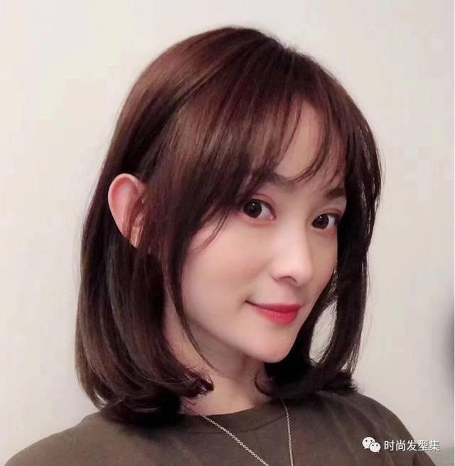去年的龙须刘海,眉上刘海以及狗啃刘海等纷纷流行到了2019,它们都在图片