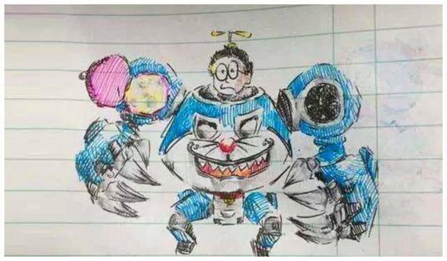 《王者荣耀》英雄手绘图大比拼,小学生的才画到了精髓