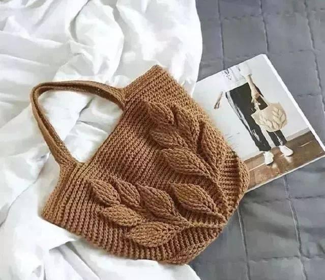 编织| 分享28款手工编织的包包,有教程,一起来编织属于你的最美四月间
