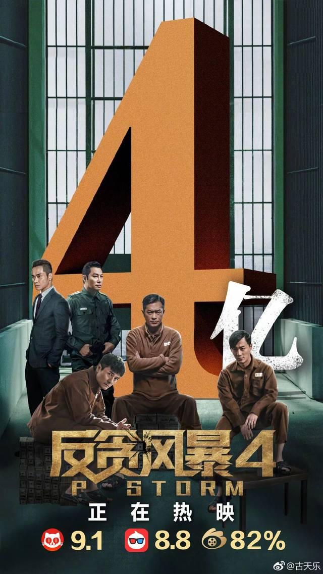 21楼影院 《反贪风暴4》来袭,你准备好电影票了吗?