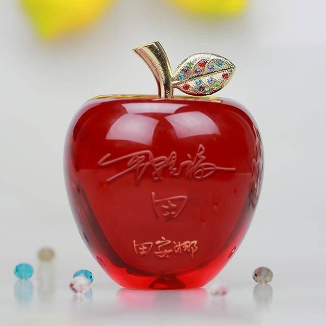 微信头像,姓名头像,水晶苹果,平安是福,22个等你带走