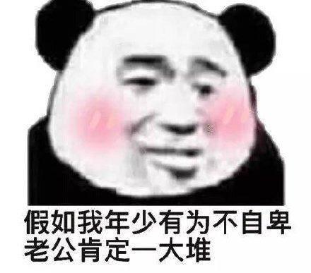 熊猫头表情包:不说晚安了,我要和你一起睡觉图片