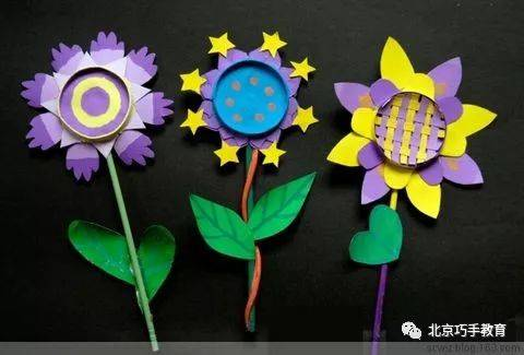 春天手工制作——纸杯花儿 | 巧手教育