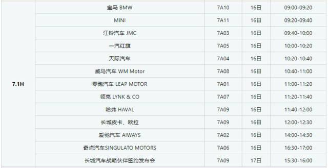 西安车展2019年重要车展时间表 西安2019年车展时间表 行业新闻 丰雄广告第6张