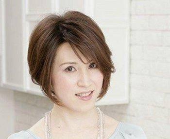 中年女性中短发发型图片
