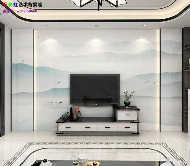 家居装饰背景墙设计师围绕着:(轻硬装,重软装)的常规思维,去击破大家图片