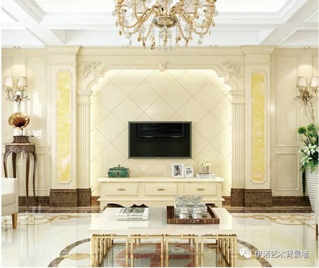 2019年,30款罗马柱设计效果图,电视墙这样做简单又大气!