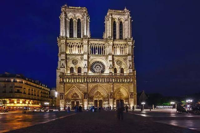 巴黎春天的风景