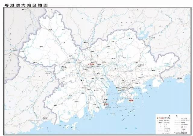 176幅新版广东省标准地图正式发布图片