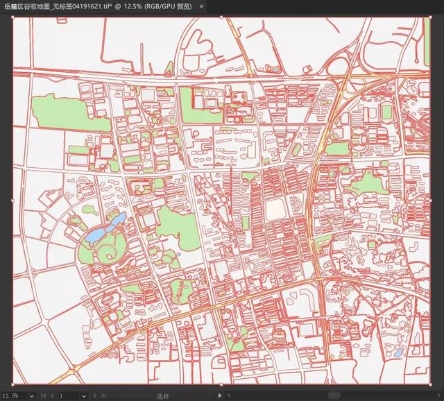 怎样下载一张高质量的卫星地图?图片