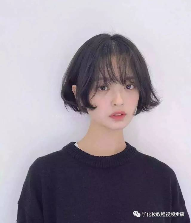 流行短发中哪些是不用烫染也很好看的呢?