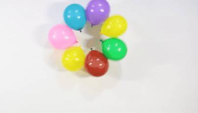 11个超有趣的气球科学小实验,让孩子轻松爱上科学!图片