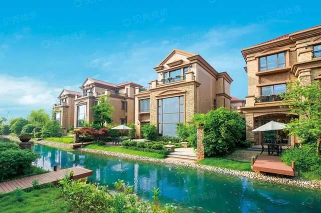 长沙20大在售别墅曝光!哪一个是别墅?中式顶级景观设计阳台图片
