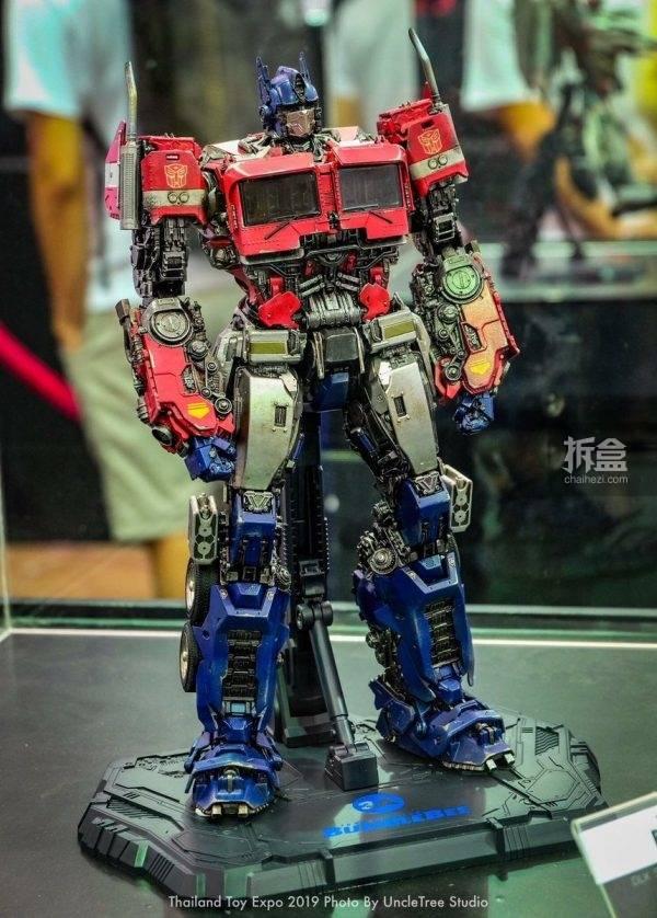 【2019tte】3a toys dlx 变形金刚 擎天柱 设计中样品,在泰国玩具展图片