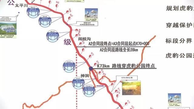 从规模来讲,在世界范围内也算是比较大的,是为东北虎豹建设廊道的数量图片