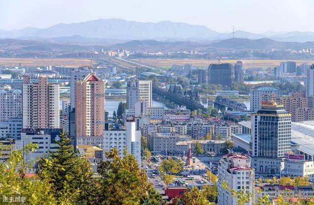 丹东市的经济总量_丹东市地图