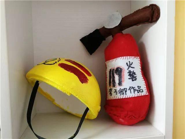 """【英才幼儿园】— 消防安全宣传月""""消防亲子手工作品展"""""""
