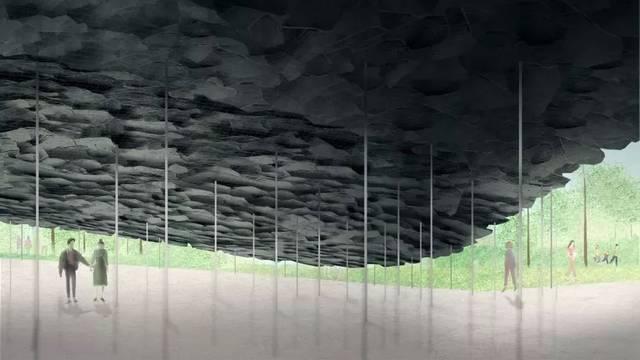 日本建筑师石上纯也处理的衣服水上梦幻,细腻到令人发花园沾上毛怎么设计小技巧图片