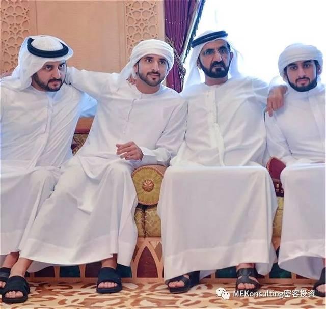 阿谁全全国最帅的迪拜王子结!婚!了!王妃一直依然她……
