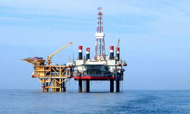 伊朗海上钻井平台图片